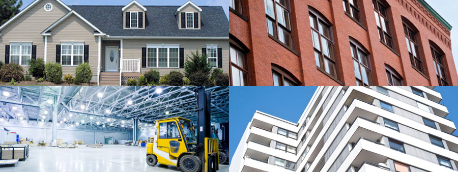 Residential, Commercial, Industrial Properties Throughout Chicagoland